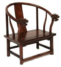 Small Huanghuali Horseshoe-Back Chair, Chinese Lot 756