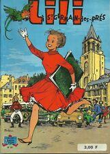 L'ESPIEGLE LILI N° 23 / LILI A ST-GERMAIN-DES-PRES - REED. PLASTIFIEE -1974-