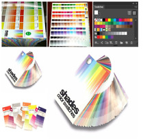 Shades Color Swatches Coated Uncoated Cmyk Process System Guide Pantone Rgb Hex