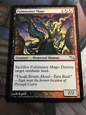 Mtg, Fulminator Mage. Shadowmoor Rare.