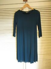 COS TEAL SLIP ON DRESS, SIZE S, UK 10-12, RRP £79, USED ONCE