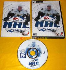 NHL 2001 Pc Versione Ufficiale Italiana ○○○○ COMPLETO