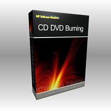 CD DVD Burner Burn Burning Audio Music Data Software Computer Program