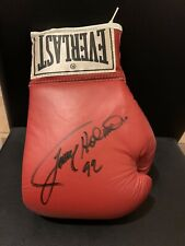 Larry Holmes Signed Leather Everlast Boxing Glove Autograph JSA COA Vintage Auto