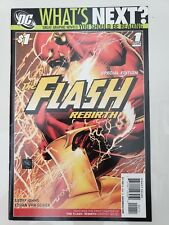 THE FLASH REBIRTH SPECIAL EDITION WHAT'S NEXT #1 (2010) DC ETHAN VAN SCIVER ART!