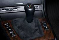 Bmw New Genuine E46 Alcantara Shift Gear Boot Gearstick Sleeve 7919219