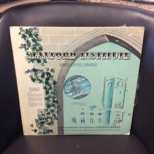 Stanford Institute LP VG+ Top Hit: Mind Development yellow Vinyl