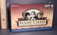 THE NAME CHASE MUSIC ICONS 1st Edition Trivia Game Geo Toys BRAND NEW & SEALED