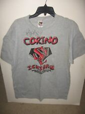 "Vintage ECW ""Steve Corino"" Shirt XL -NEW-  AUTOGRAPHED ""KING OF OLD SCHOOL"""