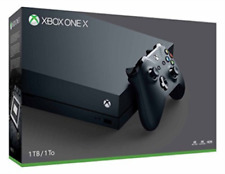 Microsoft Xbox One X 1TB Black Home Console