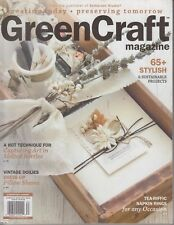 Green Craft Magazine Autumn 2018 Stampington & Company Somerset Studio