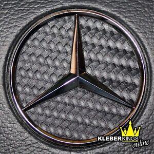 Mercedes Stern - Carbon Lenkrad Ecken MB - CLK SLK ML