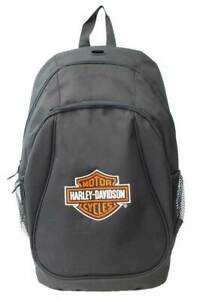 XBP1500-BLACK Harley-Davidson® Embroidered Bar & Shield Logo Backpack