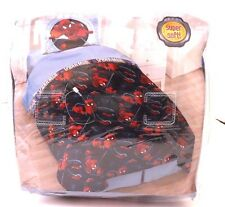 Marvel Spider-Man Twin Comforter and Sham Set Super Soft NWT