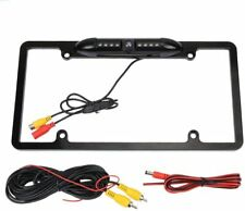 FOR ALPINE iLX-W650 NIGHT VISION COLOR REAR VIEW CAMERA - BLACK METAL FRAME