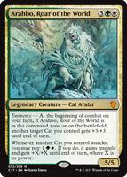 Arahbo, Roar of the World (Arahbo, Gebrüll der Welten) Commander 2017 Magic