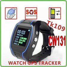 OROLOGIO TRACKER SOS GPS TK109 LOCALIZZATORE TELEFONO GPS SPIA POSIZIONE CW131