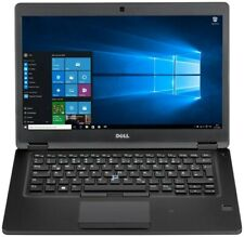 "Dell Latitude 5480 Laptop 14"" HD i5 8GB Ram 256GB SSD HD Windows 10 4C99R Refurb"