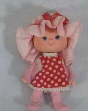 "Doll 5"" Unbranded Red Hair Broad Face With Hat. Sa4"