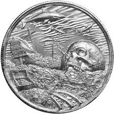 Privateer Series Davy Jones Locker UHR 2 oz 999 Silver Limited USA Made BU Round