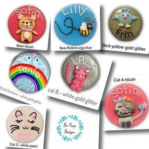 Nurse Name Badge Handmade Personalised Polymer Clay-Animals Australia