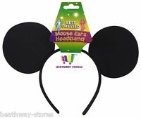 MICKEY MOUSE EARS STAG DO NIGHT MEN BOYS PARTY FANCY DRESS HEADBAND ACCESSORY