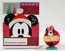 "Disney Mystery Holiday Ornament Christmas Minnie Mouse ""Love"""