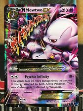 Pokemon Mega Mewtwo EX 64/162 XY Breakthrough Ultra Rare Holo NM