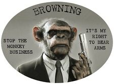 BROWNING  2nd Amendment Right to Bear Arms Assult Rifle Semi Auto Pistol Reload