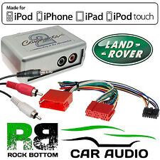 CTVLRX002 Land Rover Discovery Car Aux Input MP3 iPhone iPod Interface Adaptor
