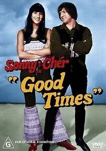 SONNY AND CHER IN GOOD TIMES DVD Region 4  RARE  LIKE NEW