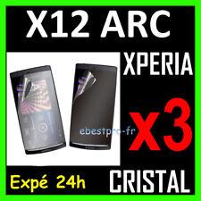 Accessoire 3 Film Protection Ecran Rigide Sony Eric Xperia X12 Arc
