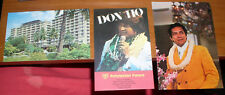 3 POSTCARDS HAWAII DON HO DANNY KALEIKINI  REEF TOWERS