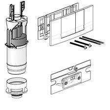 Friatec Umbausatz von WC Betätigungsplatte 331001 FRIABLOC Modell F 100 2-Menge