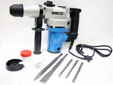 1 Electric 3 Function 1hp 850 Watt Rotary Hammer Drill 3600bpm Withsds Plus Bits