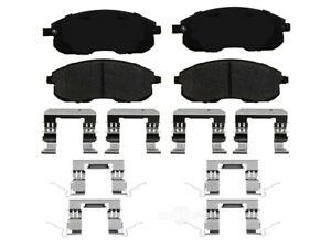 Frt Ceramic Brake Pads  Ideal Brake  TCD815