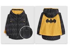 New baby Gap Dc Batman superhero Cape Windbuster Jacket boys 2t n10 nnn