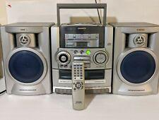 Vintage Aiwa CADW535 Portable Stereo Boombox CD Player Tape Recorder AM FM Radio