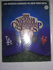 More details for 1988 los angeles dodgers v new york mets nlcs program