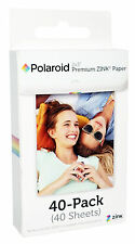 "40 Polaroid 2""x3"" Premium ZINK PHOTO PAPER SNAP Z2300 Zip Printer Instant Cam HQ"