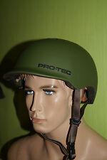 Pro-tec Riot Street Army-Green verde talla s 54-56 bike BMX SKATE bicicleta Helmet