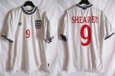Maillot ANGLETERRE ENGLAND football shirt SHEARER n°9 vintage UMBRO EURO 2000 XL