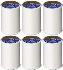 Coats and Clark Dual Duty All Purpose Thread, White (6 Pack) 400yd Spools