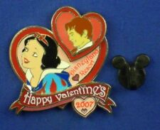 Snow White and Prince Hearts Happy Valentine's 2007 3D Le Pin # 51871