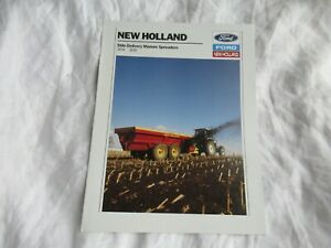 Ford New Holland 304 308 manure spreaders brochure