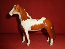 Beswick Pinto Pony Horse Skewbald  Brown and White 2nd version 1373