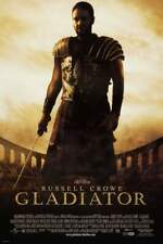 Gladiator Movie Sheet Poster 24x36 inch Fast Shipping New Russell Crowe