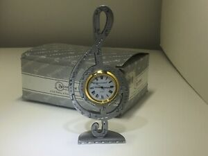 Spoontiques, Pewter Musical Note Clock