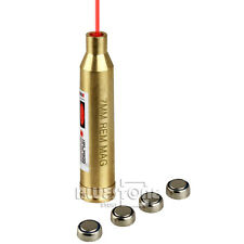 7mm REM MAG Laser Cartridge Bore Sight Red Laser Boresight Boresighter Brass New