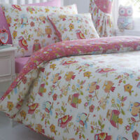 Colourful Owls Single Bedding